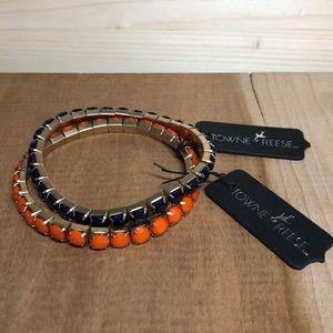 Towne & Reese Wren Stretch Bracelet Set